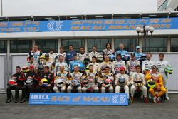 WTCC drivers group pictures