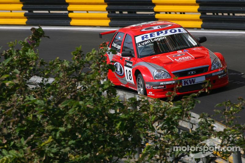 Яп ван Лаген, Lada Sport, Lada 110 2.0