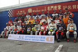 Photo de groupe des pilotes F3