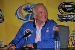 VIP guest Apollo 11 astronaut Buzz Aldrin
