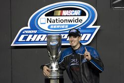 Victory lane: Kyle Busch celebrates win and 2009 Nationwide Series championship