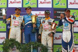 Gabriele Tarquini, Seat Sport, Seat Leon 2.0 TDI , Robert Huff, Chevrolet, Chevrolet Cruze, Jordi Gene, Seat Sport, Seat Leon 2.0 TDI and Tom Coronel, Sunred Engineering, Seat Leon 2.0 TFSI