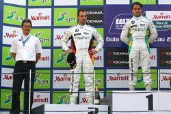 Dr. Mario Theissen, BMW Sauber F1 Team, BMW Motorsport Director, Augusto Farfus, BMW Team Germany, B
