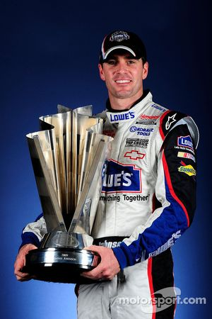 Jimmie Johnson lors de la photo officielle du championnat
