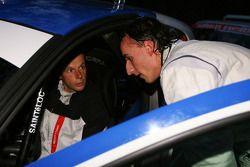 Robert Kubica et Michal Kusnierz, Renault Clio R3 avec Freddy Loix andet Frédéric Miclotte, Renault Clio R3 Maxi