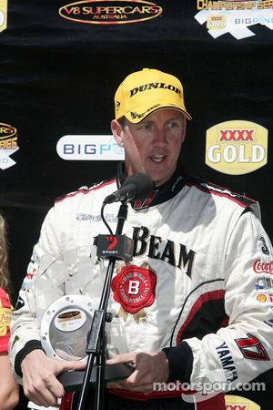 Steven Johnson takes out second for Jim Beam Racing