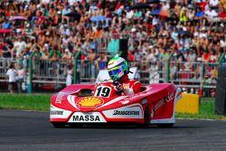 Seconde course : Felipe Massa