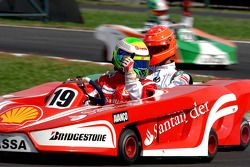 Seconde course: Felipe Massa gagne devant Michael Schumacher