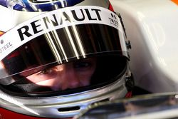 Bertrand Baguette Tests pour Renault F1 Team