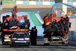 Cars, Brendon Hartley, test ediyorfor Scuderia Toro Rosso ve Daniel Ricciardo, test ediyorfor Red Bu