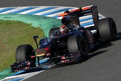 Brendon Hartley, Tests for Scuderia Toro Rosso