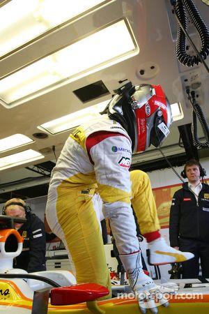 贝特朗·巴盖特,为雷诺车队测试