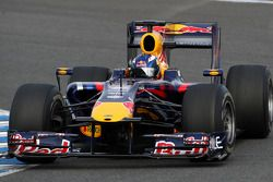 Даниэль Риккардо на тестах Red Bull Racing