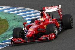 Жюль Бьянки, тесты за Scuderia Ferrari