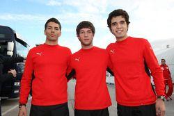 Marco Zipoli, Tests for Scuderia Ferrari, Daniel Zampieri, Tests for Scuderia Ferrari, Pablo Sanchez