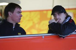 Alan Permaine, Renault F1 Team, Robert Kubica