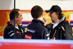 Robert Kubica, Ranault F1 garajı