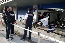 Robert Kubica, talk ve BMW Sauber F1 takım elemanları