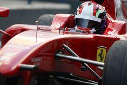 Marco Zipoli, Tests for Scuderia Ferrari