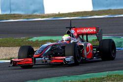 Oliver Turvey, Tests for Mclaren Mercedes