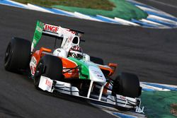 J.R. Hildebrand, Tests for Force India