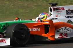 Paul di Resta, test ediyorfor Force India