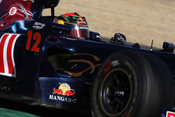 Brendon Hartley, Tests pour Scuderia Toro Rosso