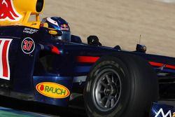 Daniel Ricciardo, Tests for Red Bull Racing