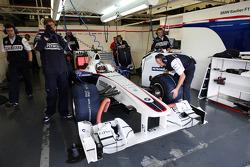 Bertrand Baguette, BMW Sauber F1 Team