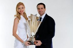 Four time NASCAR Sprint Cup Series Champion Jimmie Johnson and his lovely wife Chandra pose with the