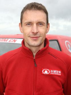 co-driver Sylvain Poncet