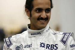 His Highness Sheikh Khalid bin Hamad Al-Thani, Qatar, Williams F1 Headquarters near Oxford, UK, to test company'in Formula 1 simulator, technology that is being further developed, Qatar Science & Technology Park