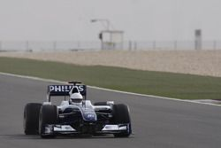 Sheikh Khalid bin Hamad Al-Thani teste la Williams-Toyota FW31