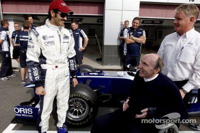 Sheikh Khalid bin Hamad Al-Thani Williams F1 test drive