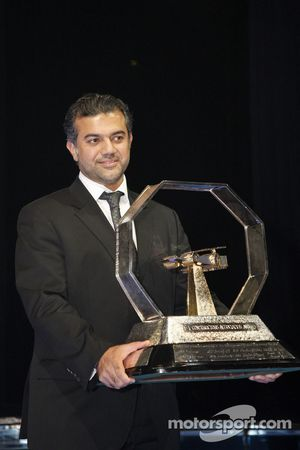 Promoter's Trophy: Abu Dhabi Grand Prix represented by His Excellency Abdulla Khouri