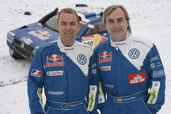 Volkswagen Motorsport: Giniel de Villiers y Carlos Sainz