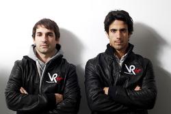 Timo Glock, pilotu , ve Lucas di Grassi, pilotu