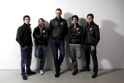 Alvaro Parente, Test Pilotu, Timo Glock, pilotu , Nick Wirth, Virgin Racing Teknik Direktörü, Lucas