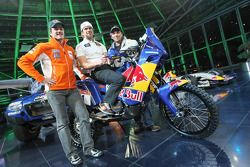 KTM: Marc Coma, Cyril Despres y Martin Freinademetz