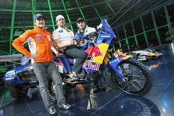 KTM: Marc Coma, Cyril Despres et Martin Freinademetz
