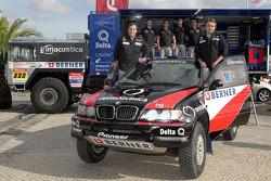 Apres Pioneer Desert Team Delta Q: Ricardo Leal dos Santos and Paulo Fiuza