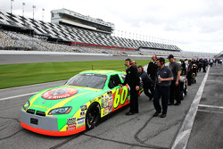 The No. 60 Sheltra Motorsports Dodge with Patrick Sheltra rolls down pit road