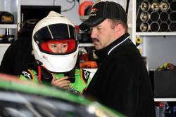 Danica Patrick with Tony Eury Jr.