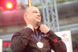 Orlen Team presentation: Jacek Czachor on stage