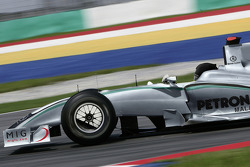 Mercedes Grand Prix Concept Car: photo of the Brawn GP car with a computer generated Mercedes Grand