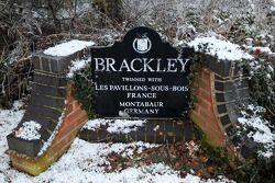 Brackley, home, Mercedes GP team