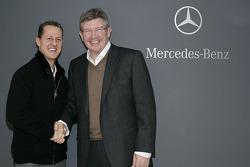 Michael Schumacher und Ross Brawn sind wieder vereint