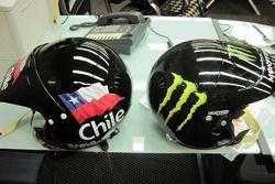Team Gordon: les caques de Carlo De Gavardo et Juan Pablo Rodriguez