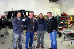 Team Gordon: Juan Pablo Rodriguez, Bob Gordon, Carlo De Gavardo and Robby Gordon
