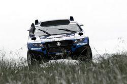 Volkswagen Race Touareg 2 #303 Volkswagen: Carlos Sainz y Lucas Cruz Senra